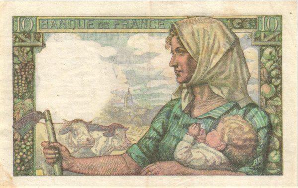 10 francs mineur