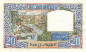 20 Francs Science et Travail