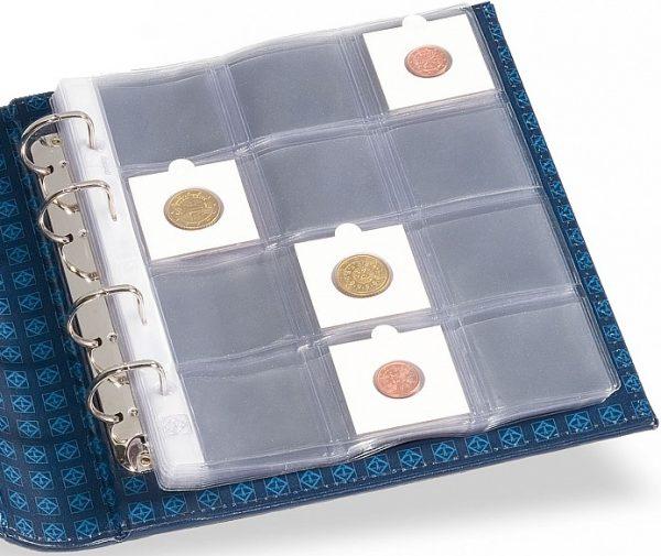 Feuilles monnaies étuis cartonnés 12 cases