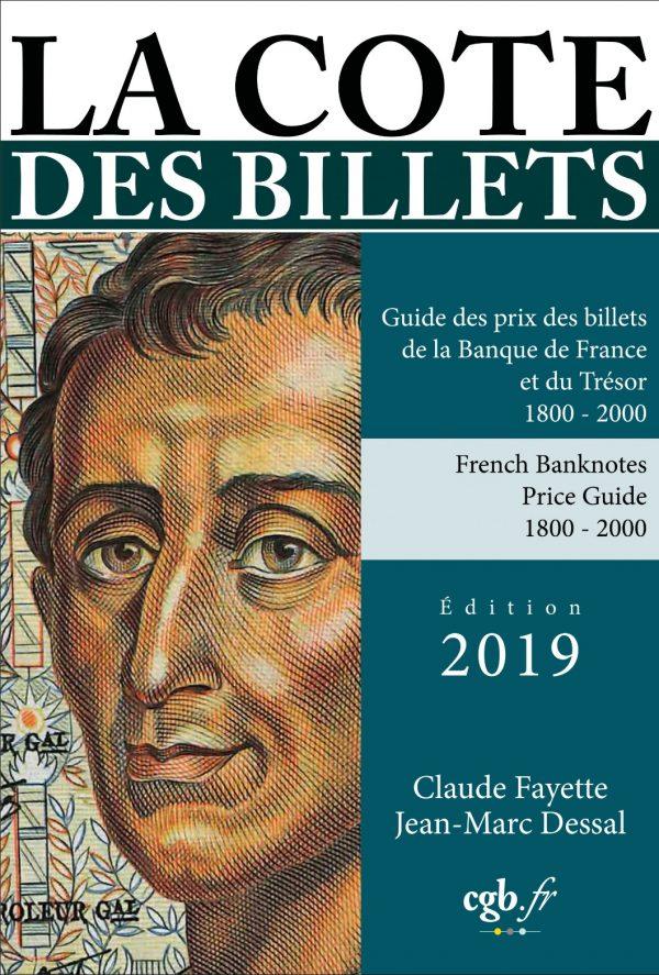 La cote des billets de la Banque de France et du Trésor