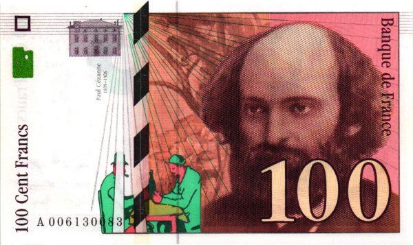 100 Francs Cézanne
