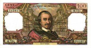 100 Francs Corneille100 Francs Corneille