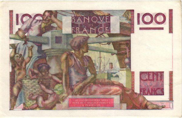 100 Francs Jeune Paysan