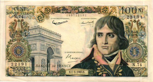 100 Nouveaux Francs Bonaparte