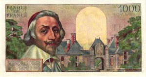 Verso 1000 Francs Richelieu