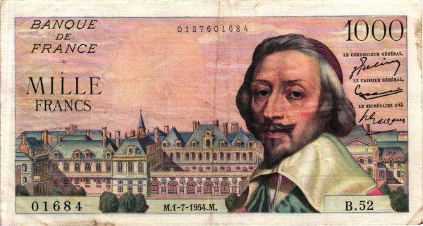 1000 Francs Richelieu