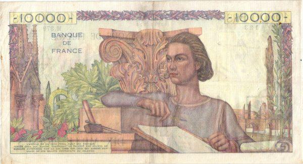 10000 Francs Génie Français