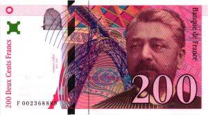 200 Francs Eiffel