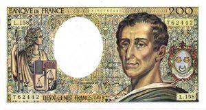 200 Francs Montesquieu Modifié