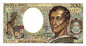 200 Francs Montesquieu
