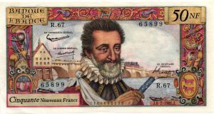 50 Nouveaux Francs Henri IV