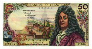 50 Francs Racine