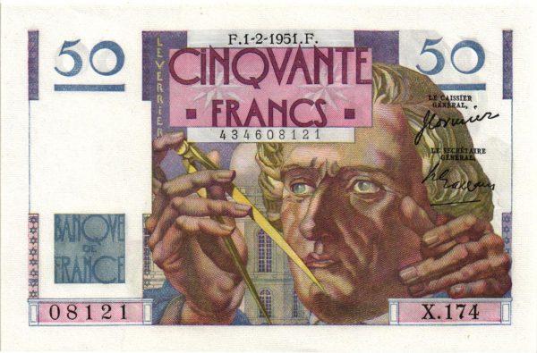 50 Francs Le Verrier