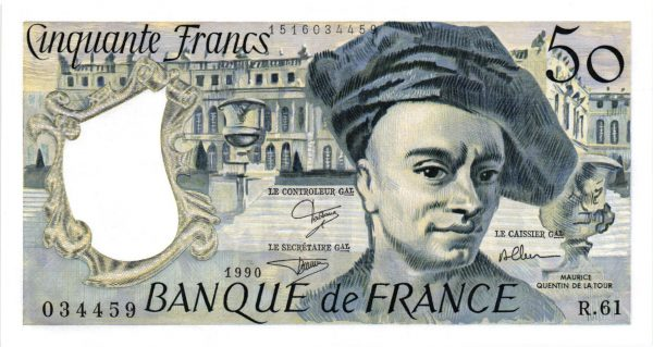 50 Francs Quentin de La Tour