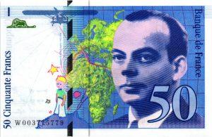 50 Francs Saint-Exupéry