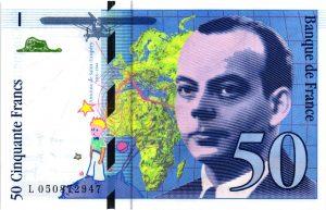 50 Francs Saint-Exupéry modifié