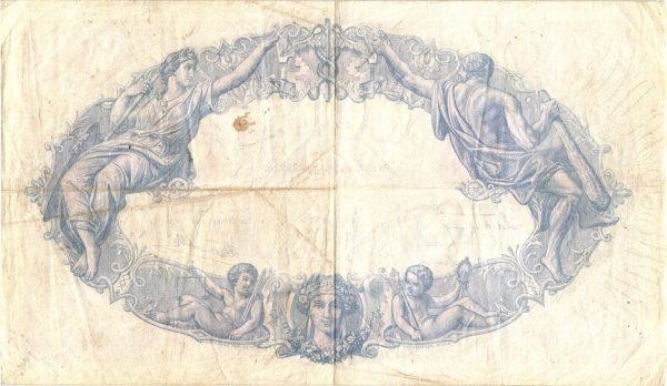500 Francs Bleu et Rose Modifié500 Francs Bleu et Rose Modifié