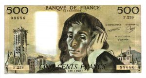 500 Francs Pascal