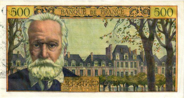 500 Francs Victor Hugo