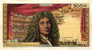 500 Nouveaux Francs Molière