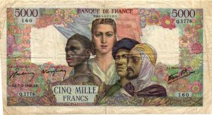 5000 Francs Empire Français