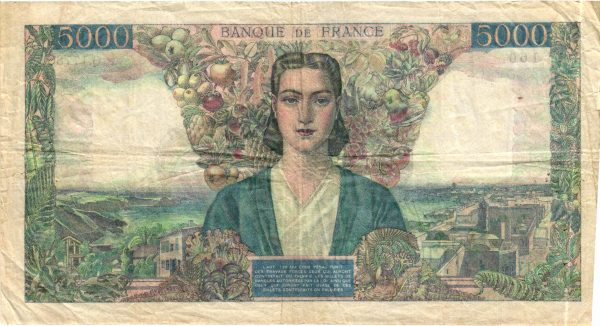 5000 Francs Empire Français
