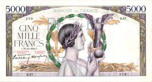 5000 Francs Victoire Modifié