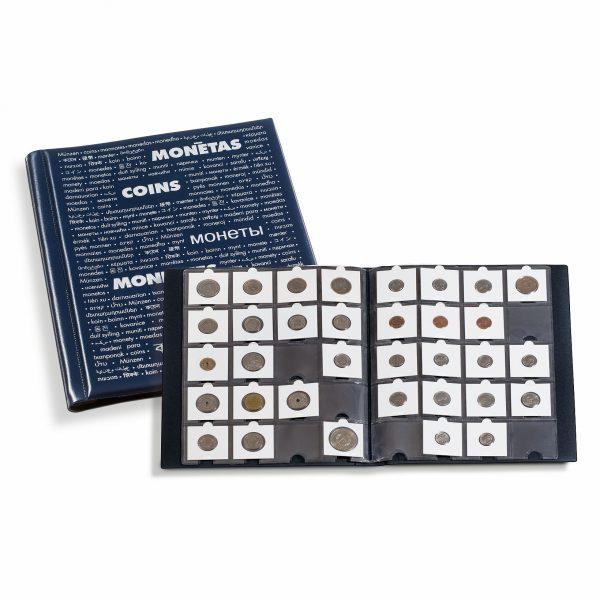 Album pour 200 monnaies sous étui cartonné