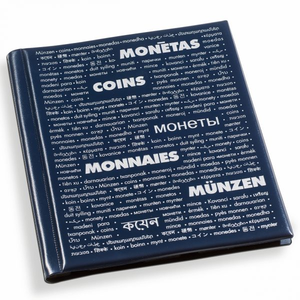 Album pour 200 monnaies sous cadre carton