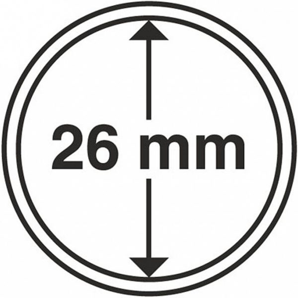 capsules monnaies 26 mm