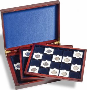 Coffret numismatique pour étuis cartonnés