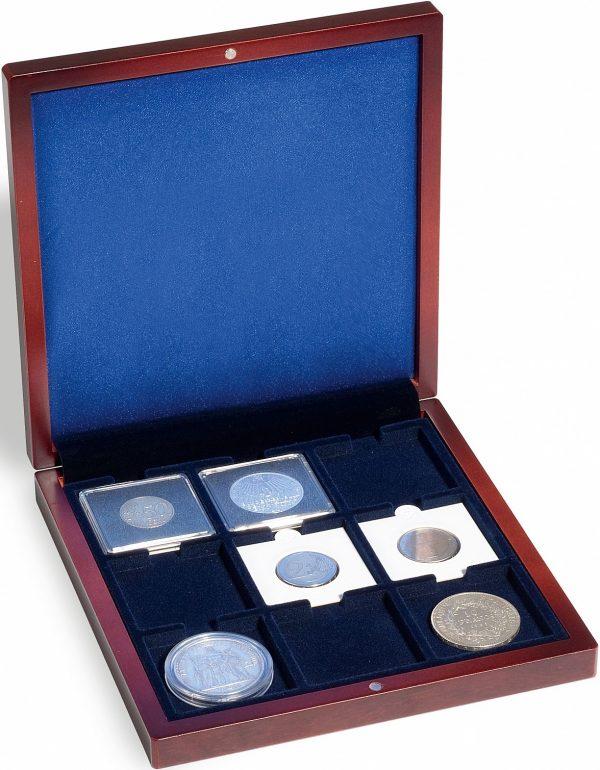 Écrin numismatique pour étuis cartonnés