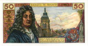 verso 50 Francs Racine
