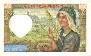Verso 50 Francs Jacques Cœur