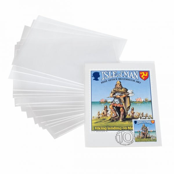 étuis de protection pour cartes postales modernes