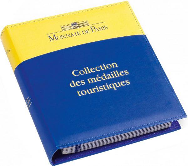 Album Monnaie de Paris pour ranger 72 médailles touristiques