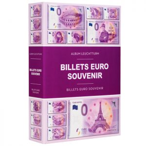 Album billets euro souvenir