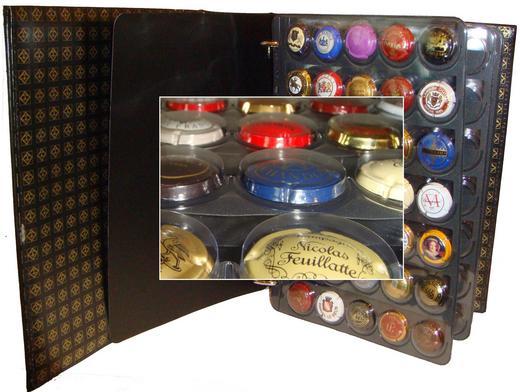 Album capsules champagne collection