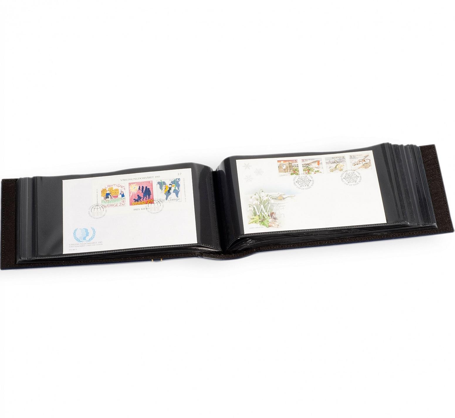 Album cartes postales pour ranger les cartes postales de collection.