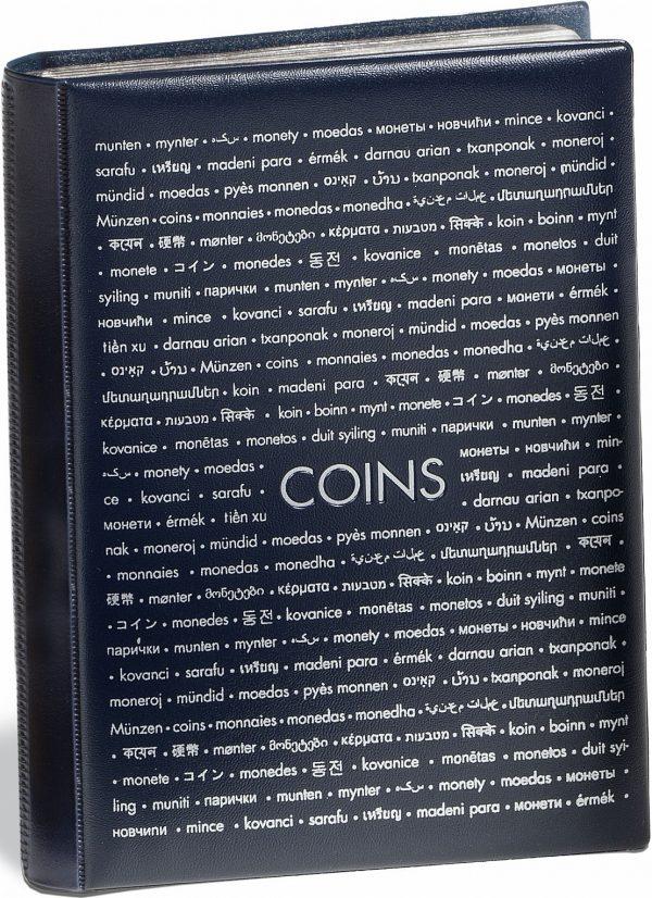 Album de poche numismatique pour 96 monnaies