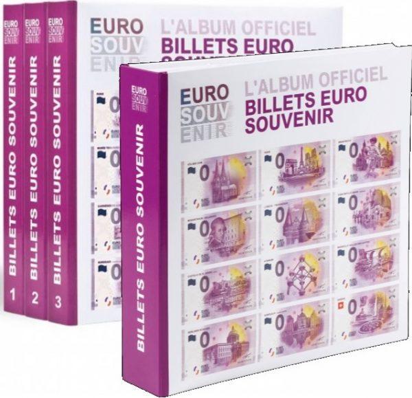 Album pour billets euro souvenir