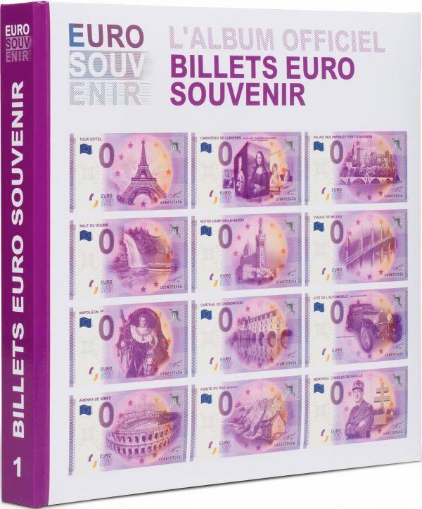 Album pour billets euro souvenir tome 1