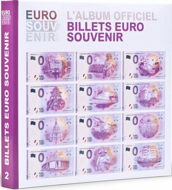 Album pour billets euro souvenir tome 2