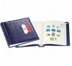 Album de timbres français préimprimé