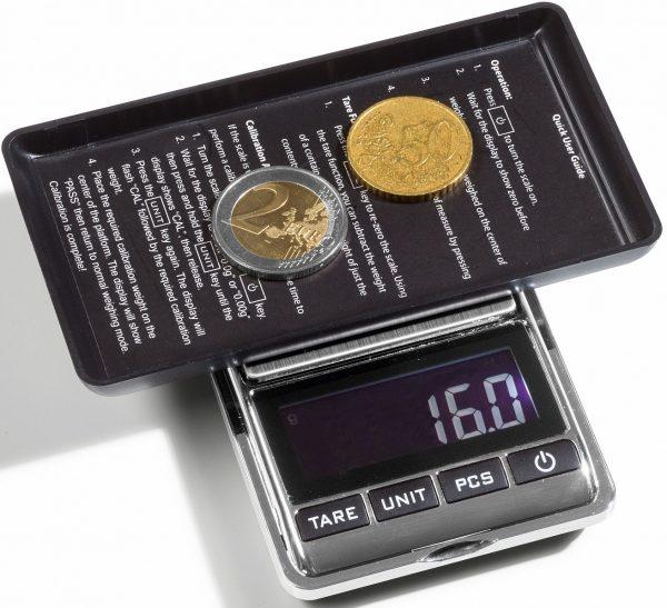 Balance numismatique pour pièces