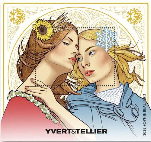 Catalogue Yvert et Tellier 2022 - bloc offert