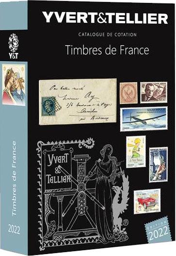 Catalogue Yvert et Tellier 2022