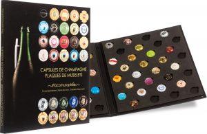 Collector plaques de muselets de champagne