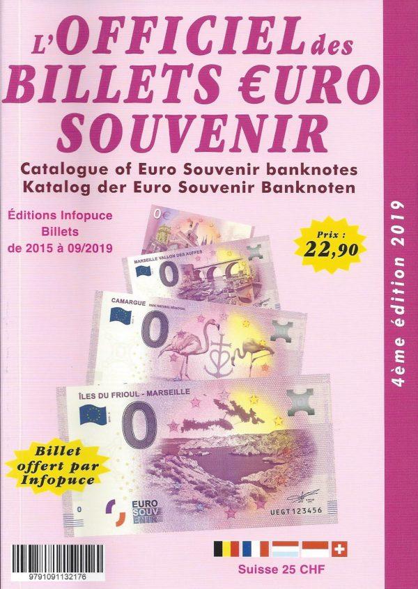 Officiel des billets euro souvenir 2019