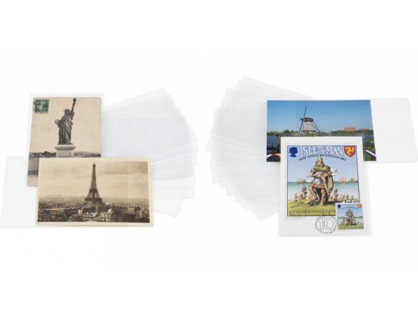 Pochettes de protection pour cartes postales